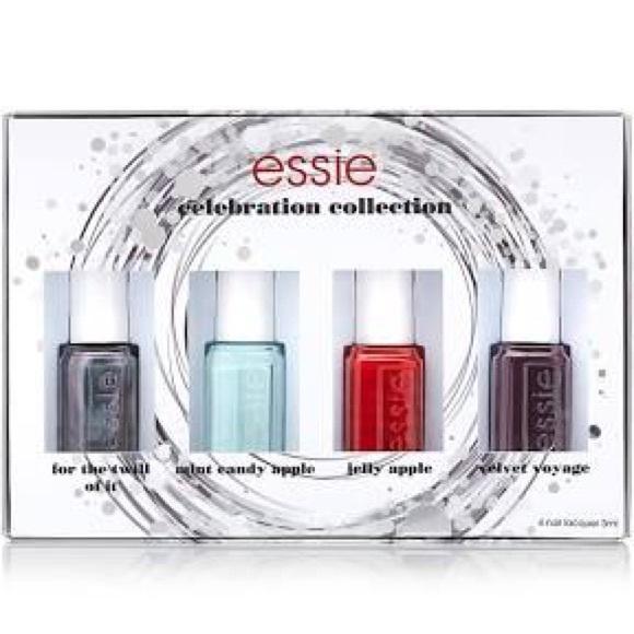 Essie Other   Celebration Collection Nail Polish Set   Poshmark